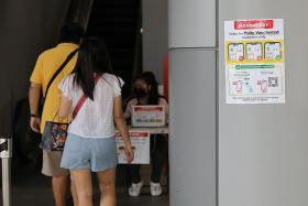 Unvaccinated can't enter malls to take kids to tuition classes