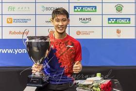 Loh brothers go Dutch on title wins in Netherlands