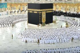 Grand Mosque in Mecca begins operating at full capacity