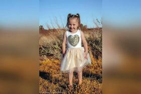 Australian police search for girl, four, missing from outback campsite