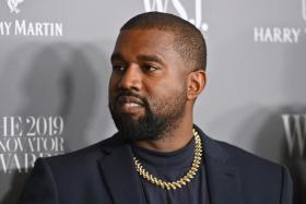 In this file photo US rapper Kanye West attends the WSJ Magazine 2019 Innovator Awards at MOMA on November 6, 2019 in New York City.