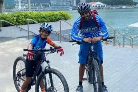 Eight-year-old Arjo Ghosh celebrated his birthday this month by cycling 119km around Singapore to raise awareness for children's cancer.