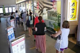 Smooth entry at malls as mandatory vaccination status checks kick in