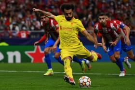 Mohamed Salah became Liverpool's leading scorer in the Champions League with his brace against Atletico Madrid.