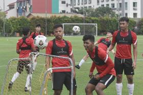 S'pore U-22 coach Nazri Nasir: We won't sit back and be attacked