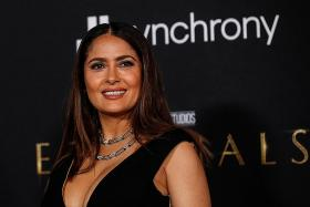 Salma Hayek relishes scoring Eternals superhero role in her 50s