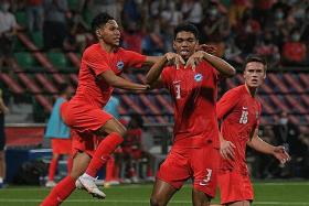 Young Lions salvage draw with late goal against Timor-Leste