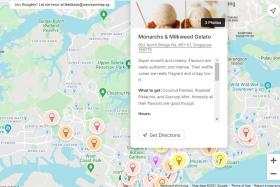 The Ice Cream Map lists the best ice cream places in Singapore according to PM Lee's son, Li Hongyi.