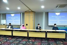 Members of the Muis fatwa committee addressing the wearing of tudung in the workplace. Muslim nurses are allowed to don the headgear from Nov 1.