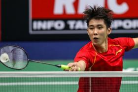 Loh Kean Yew last beat All England champion Lee Zii Jia 12 years ago in their native Malaysia.