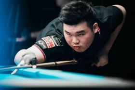 In September, Aloysius Yapp finished third at the World 10-ball Championship in Las Vegas.