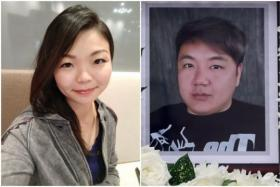 Alverna Cher Sheue Pin (left) is said to have helped Mr Wee Jun Xiang take his own life by nitrogen gas inhalation.
