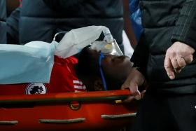 Romelu Lukaku was substituted after only eight minutes after a clash of heads with Southampton's Wesley Hoedt. While Mourinho was relieved that there was no serious injury, he has already ruled him out of the visit to Everton on Jan 2 (Singapore time) and the FA Cup third-round clash with Derby on Saturday morning.