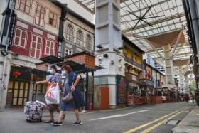 Chinatown Food Street switched off its lights for the last time on Oct 22, 2021, with just two stalls left standing.