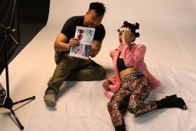 Last year's New Face contestant Shwetaa Rai. TNP PHOTOS: Wendy Lim & Salwa Nadhirah