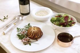 Treat mum to gourmet meals and cakes at home this Mother's Day