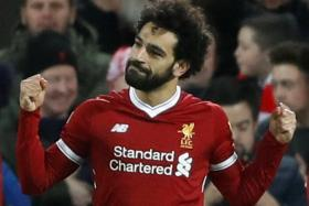 Mohamed Salah took his tally to 23 goals in all competitions after scoring a double to help Liverpool come from behind to beat Leicester City 2-1 on Saturday.