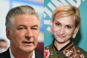 Alec Baldwin (left) fired a live lead bullet in an accidental fatal shooting that killed cinematographer Halyna Hutchins during a rehearsal.