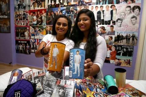 One Direction fans check out concert venue to get best views