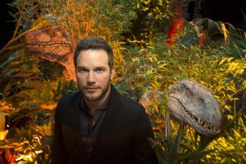 Chris Pratt Who Plays Raptor Trainer Owen In Jurassic World Poses At Universal Studios In Los Angeles California Photo Reuters