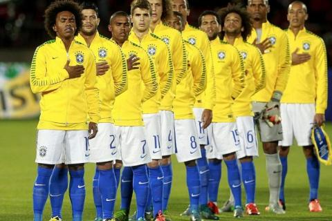 151aed89e FADING FORCE  This Brazil team hardly evoke any fear factor among their  opponents nowadays. TNP PHOTO  AFP