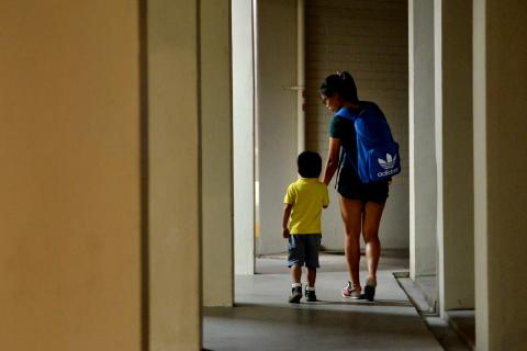Teen mothers in singapore for