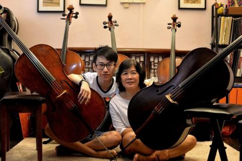 Cellist saves mum with his strings, Latest Singapore News - The New