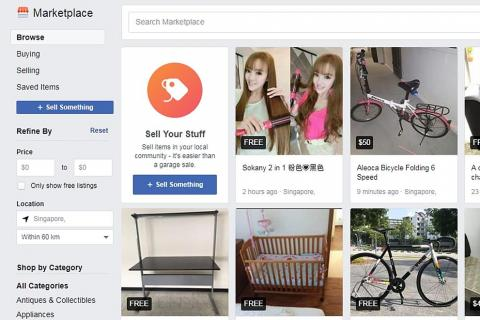 Facebook launches Marketplace in Singapore, Latest Singapore