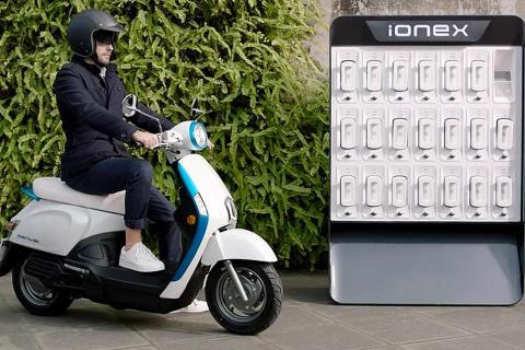 Eco-friendly riding starts with Kymco's Ionex electric