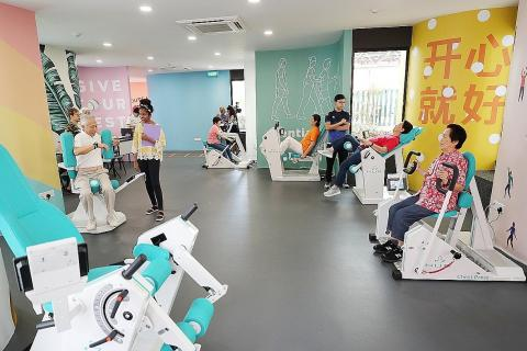 Gym for seniors opens in bishan cc latest singapore news the