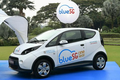 BlueSG to open up use of charging stations, Latest Singapore
