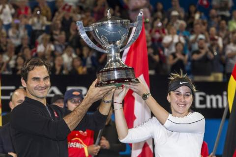 Federer In Fine Fettle With Third Hopman Cup Win Latest Tennis News
