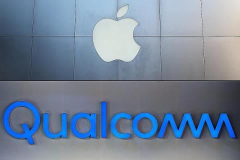 Qualcomm stock jumps 23% on surprise settlement with Apple