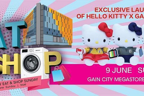 Gain City Megastore @ Sungei Kadut celetes 3rd birthday ... Xclusive Home Furniture Sungei Kadut on