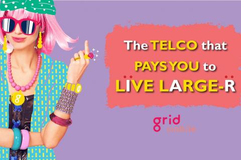 New local telco Grid Mobile targets millennials, Latest