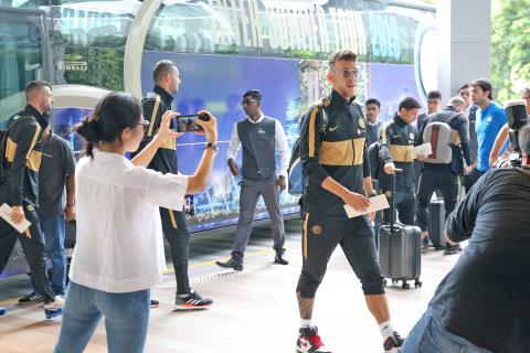 Inter Milan first to arrive for International Champions Cup