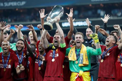 Liverpool clinch Super Cup after shoot-out victory over