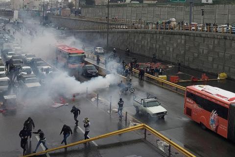 Risultati immagini per teheran protests november 2019