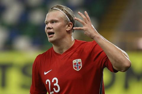 Erling Haaland Bags Brace In Norway S 5 1 Win Over Northern Ireland Latest Football News The New Paper