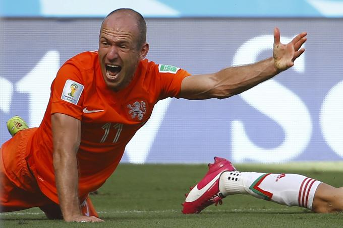 robben memes pour in after dive in mexico game latest others news