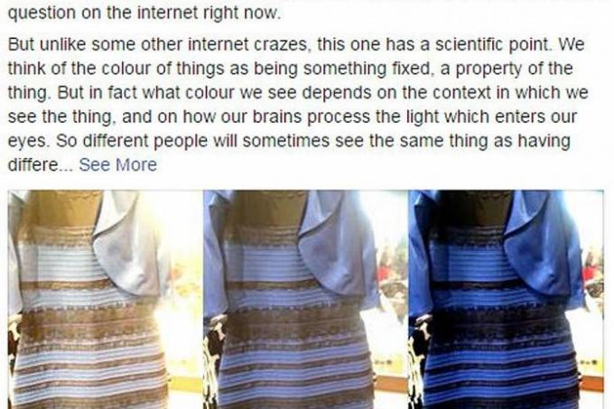 Black and blue dress white and gold explanations