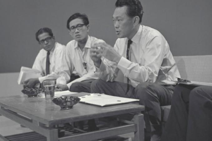 hear mr lee kuan yew read the proclamation of independence