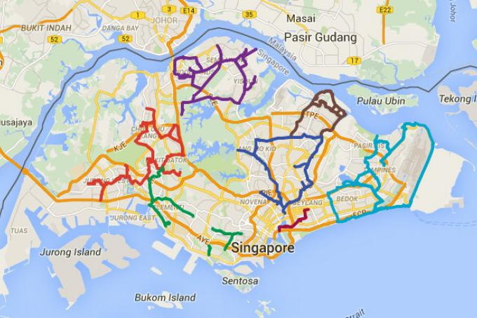 Park connector network hits 300km latest singapore news the new park connector network hits 300km gumiabroncs Gallery