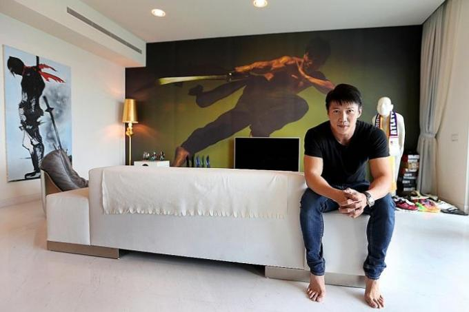He describes the style of his home as minimalist modern and relaxed tnp photos jonathan choo