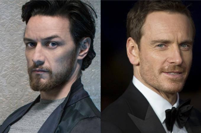 James McAvoy and Michael Fassbender square off in new ...