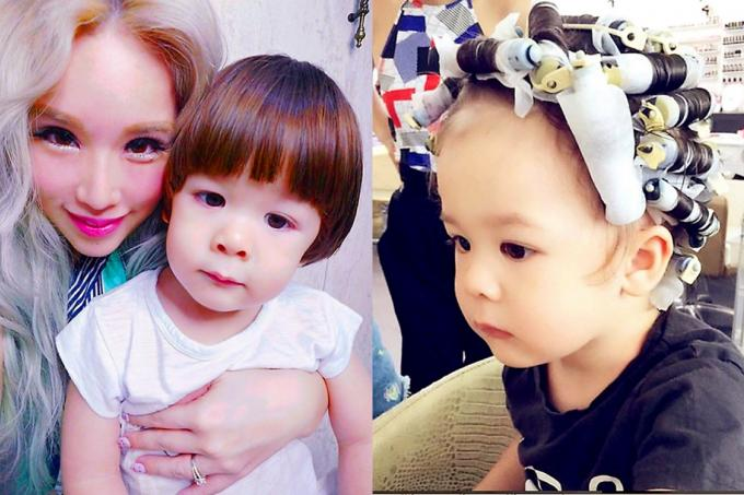 Blogger Xiaxue Causes Stir With Toddler Son S Hair Perm