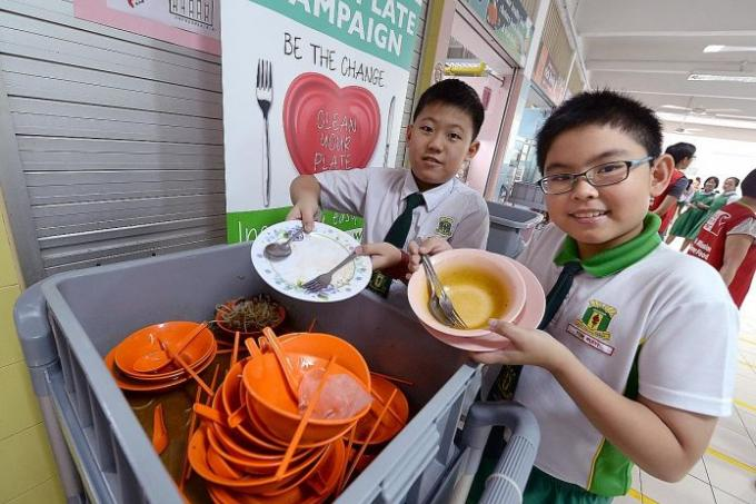 teaching kids not to waste food latest singapore news. Black Bedroom Furniture Sets. Home Design Ideas