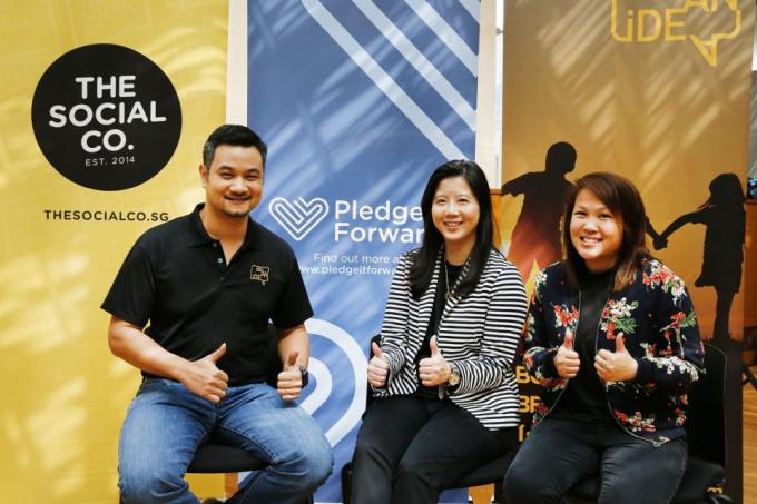 Pledge it forward with your income tax rebate, Singapore