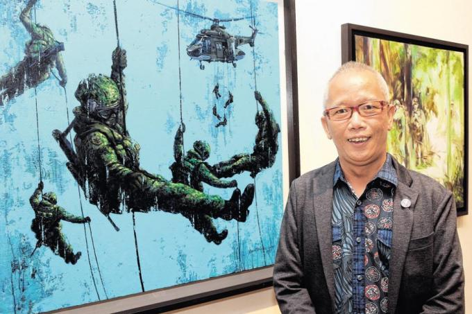 Commemorating 50 years of National Service through art, Singapore
