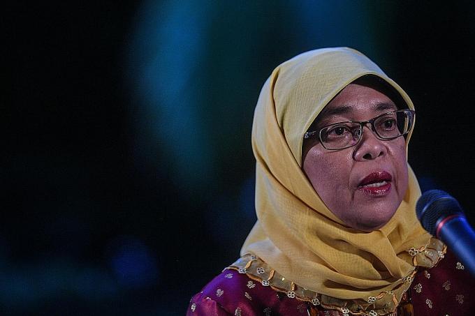 Halimah: Parliament has 'checks and balances'